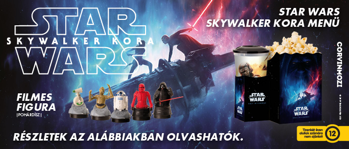 Star Wars: Skywalker kora - MENÜ A CORVIN MOZIBAN