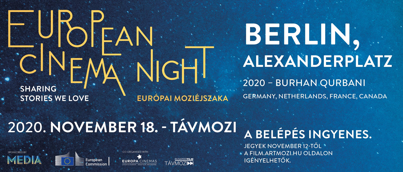 Európai Moziéjszaka - Berlin, Alexanderplatz a Budapesti Távmoziban