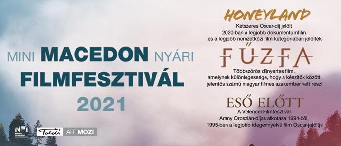 Mini Macedón Nyári Filmfesztivál 2021