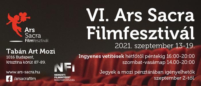 VI. Ars Sacra Filmfesztivál